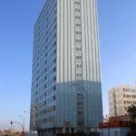 Fachada Baupanel de 55 metros de altura, Madrid 2011