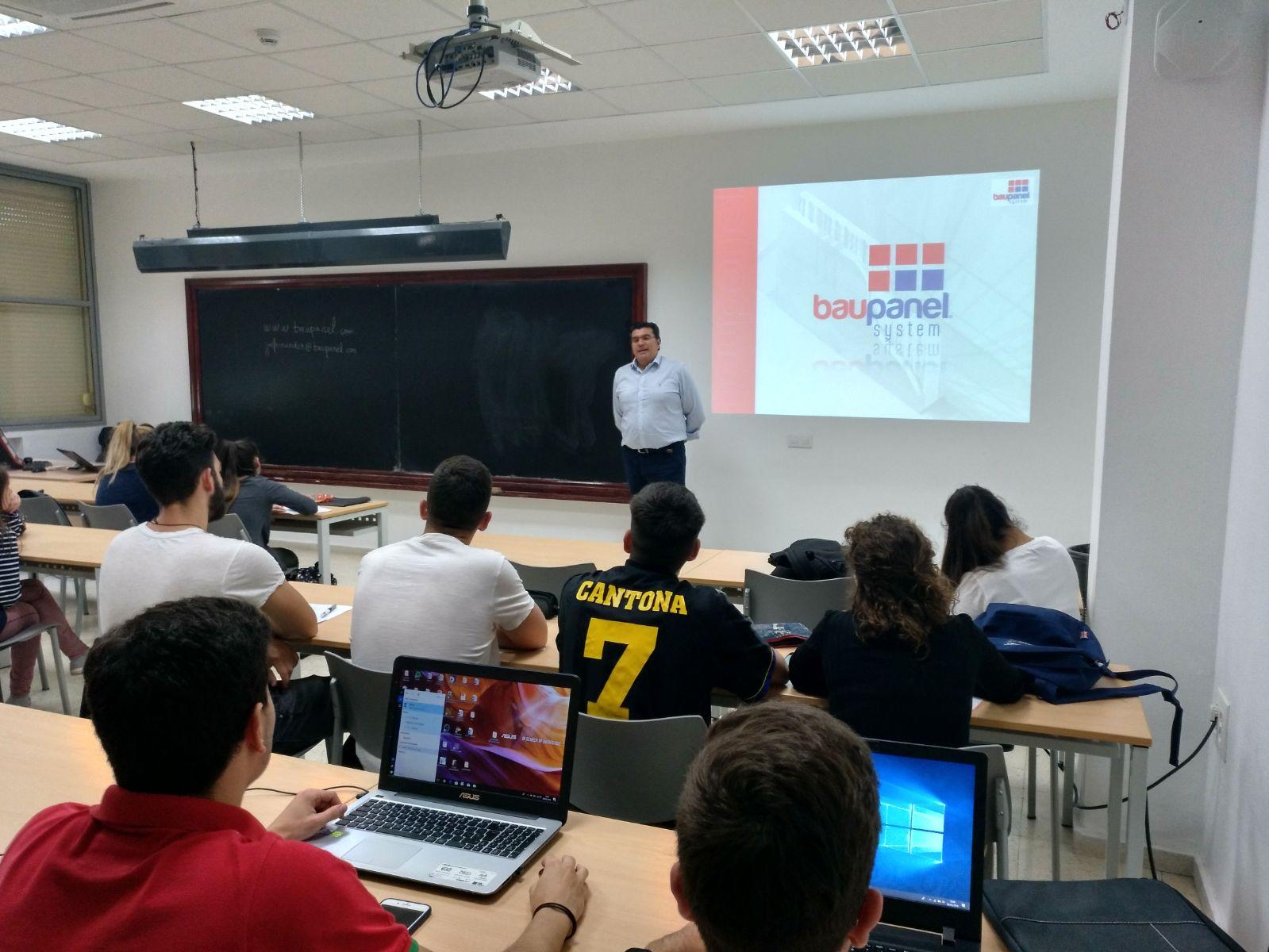 Conferencia en Sevilla sobre Baupanel® System, 2018