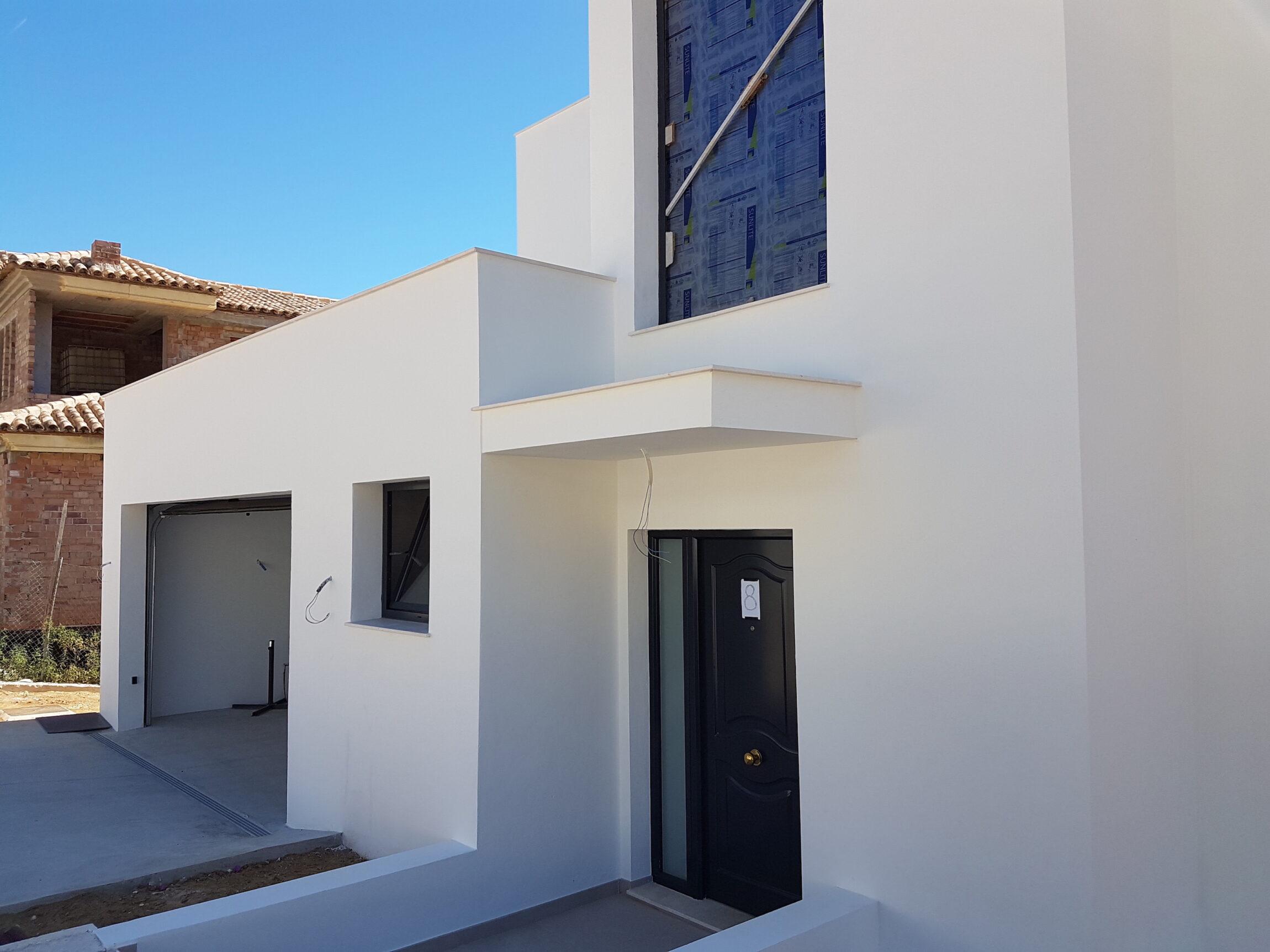 Vivienda unifamiliar construida en mijas costa con sistema for Coste construccion vivienda unifamiliar