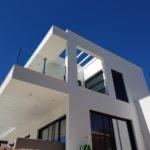 Vivienda unifamiliar construida en Mijas Costa con sistema de construcción rápido y rentable, paneles de construcción Baupanel System 1