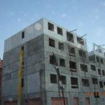 Bilbao, Mirilla. Edificio construido con el sistema de construcción Baupanel 02
