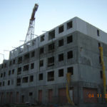 Bilbao, Mirilla. Edificio construido con el sistema de construcción Baupanel 03