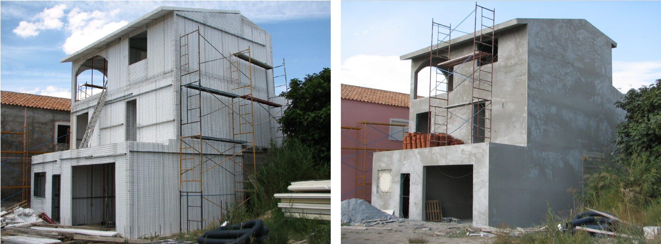 Obra realizada con el sistema de construcción Baupanel® System