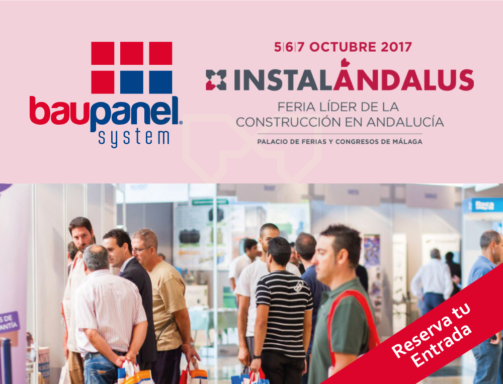 Baupanel en la Feria Instalándalus, Palacio de Congresos de Málaga