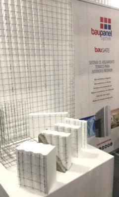 Stand de Baupanel en Instalándalus 2017, Feria de la construcción en Málaga
