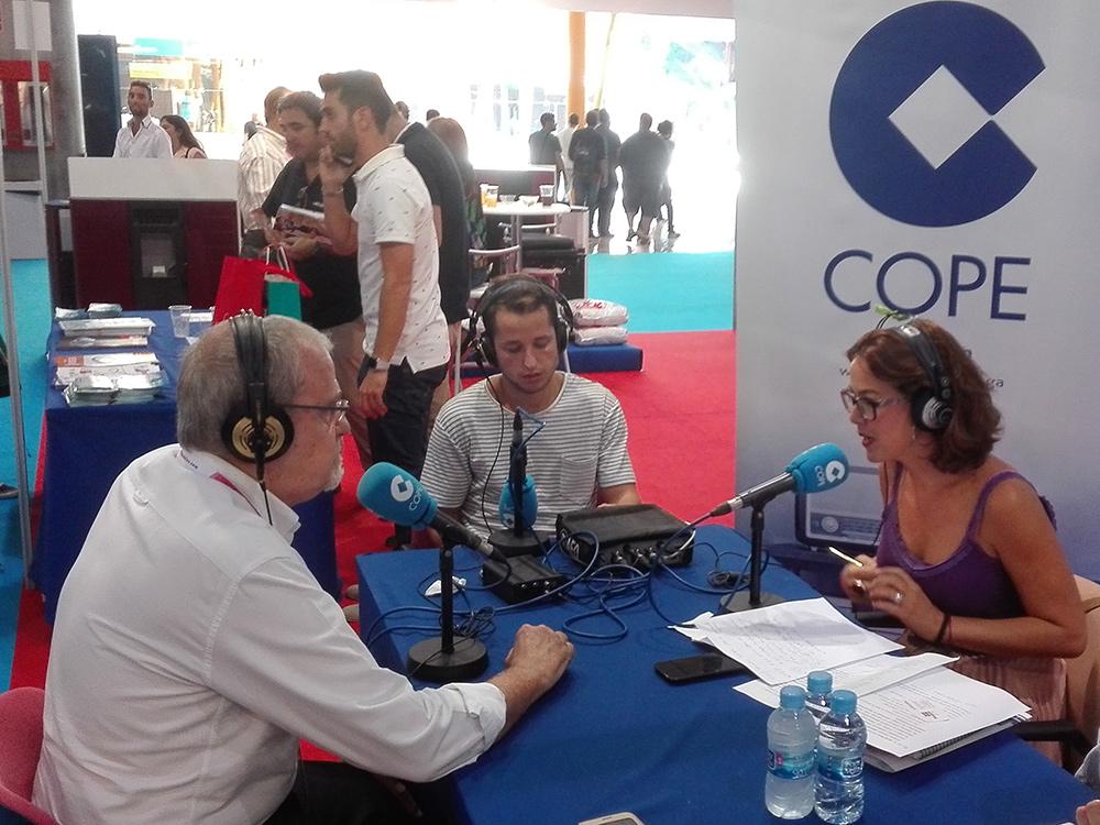 Marcelo Zolezzi de Baupanel en Radio Cope Málaga