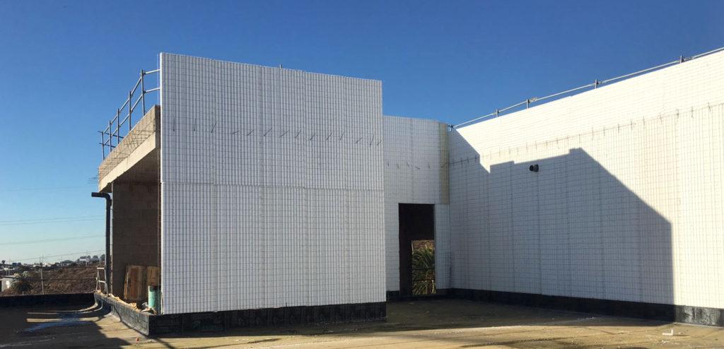 Nanotek, Cerramiento de Fachada Baupanel
