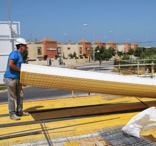 Obra en Rota, Cádiz, con sistema constructivo Baupanel System