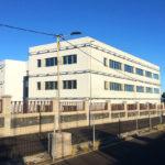 Nanotec Canarias, cerramiento industrial de edificio con Baupanel® System.