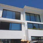 1 Revestimiento sate de estructura en vivienda unifamiliar en Rincón de la Victoria, Málaga.