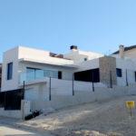 Vivienda construida con sistema de construcción Baupanel, en Calarreona, Murcia