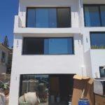 3 Revestimiento sate de estructura en vivienda unifamiliar en Rincón de la Victoria, Málaga.