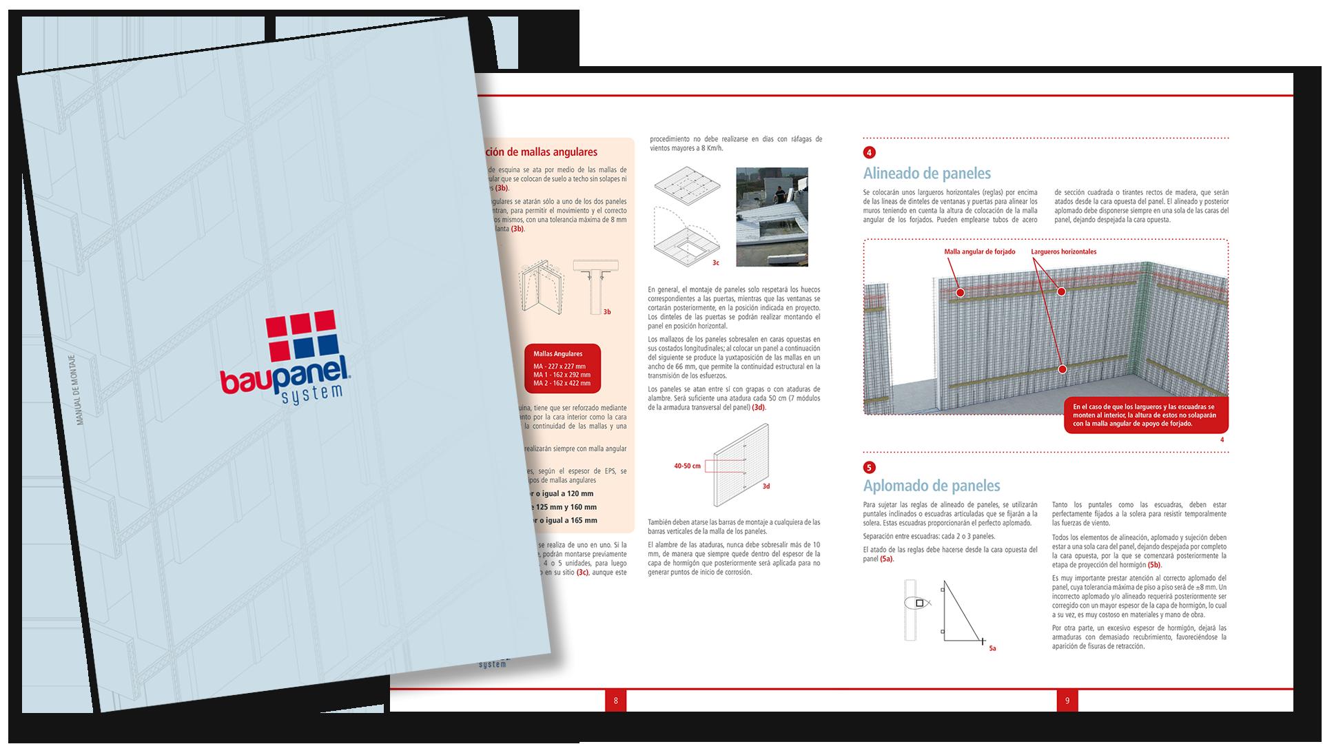 Catálogo de Montaje Baupanel System 2018