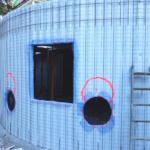 1. Construcción de aulas curvas en Convento en Madrid, con el sistema constructivo Baupanel®, 2018