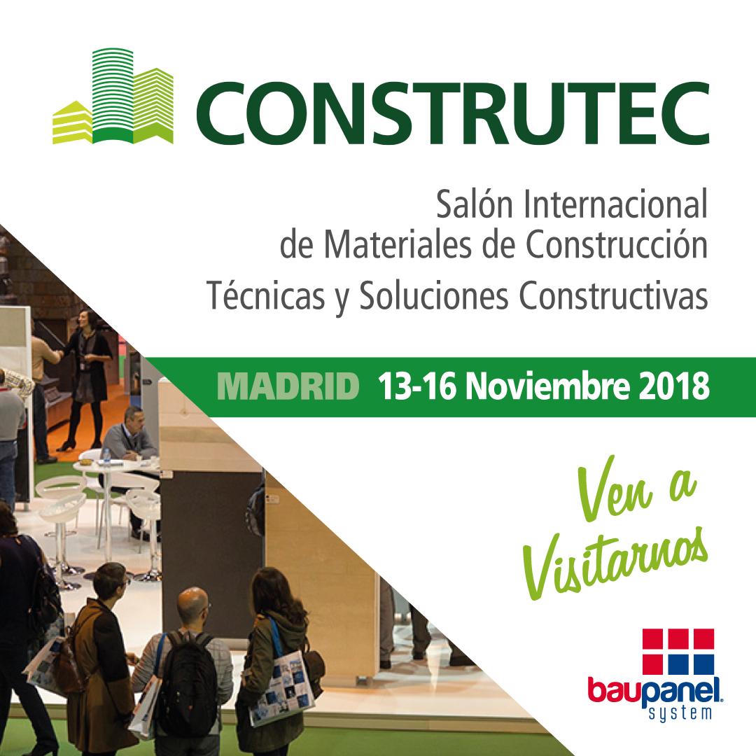 Salon International de Materiales de Construcción - Construtec 2018