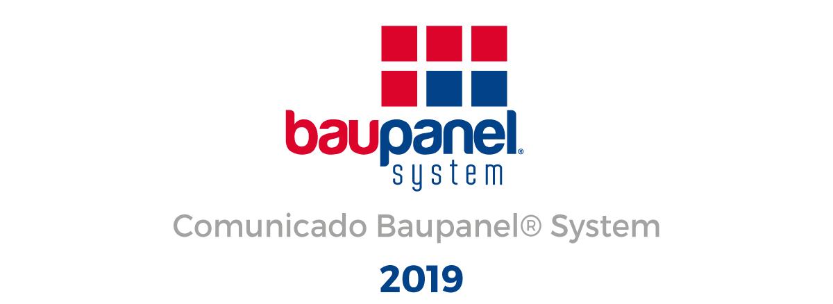 Comunicado Baupanel® - Instaladores Homologados