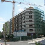 Cerramiento de Fachada en edificio, Madrid, Baupanel
