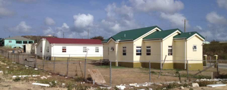 Viviendas terminadas en Antigua y Barbuda (2018)