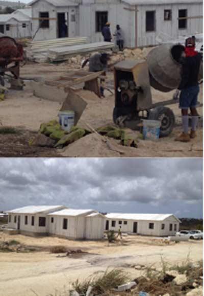 Construcción de viviendas en Antigua y Barbuda con sistema Baupanel® System