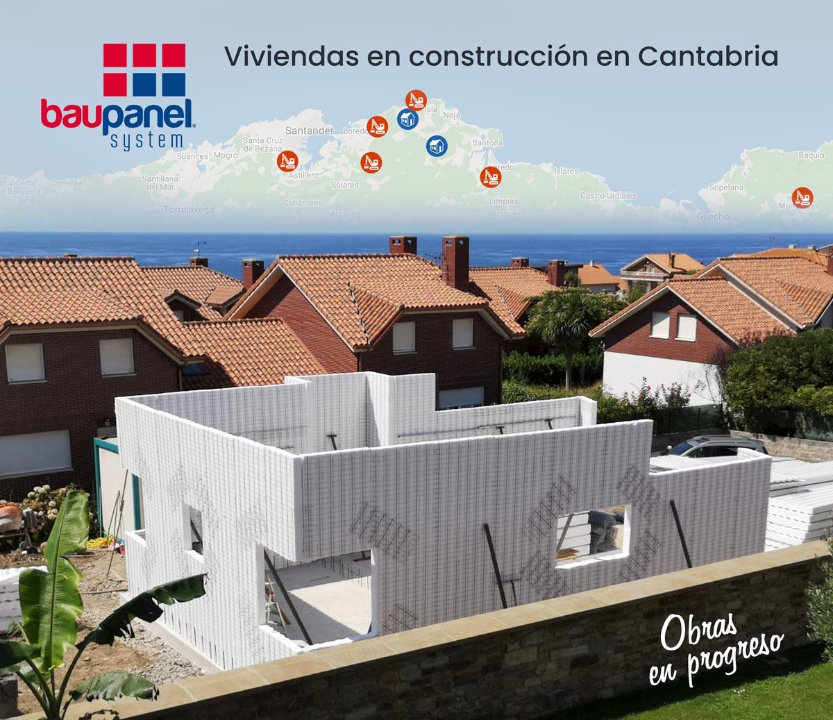 Obras Baupanel en Cantabria 2019
