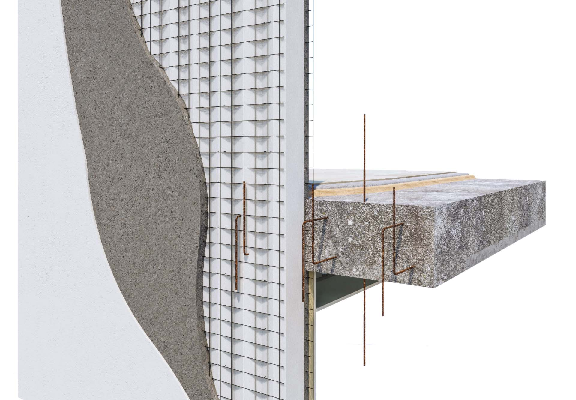 Sistema para fachadas de construcción. Envolvente térmica cumpliendo con el nuevo código técnico.