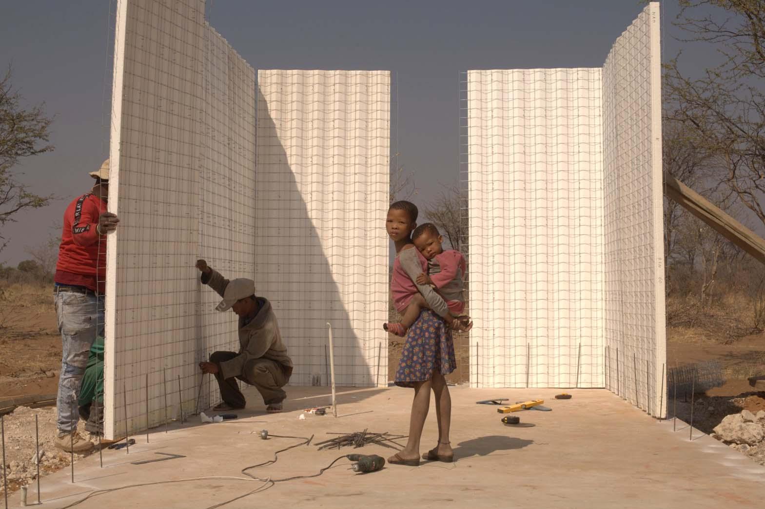 Baupanel® System, colaborando en la construcción de escuela en Namibia