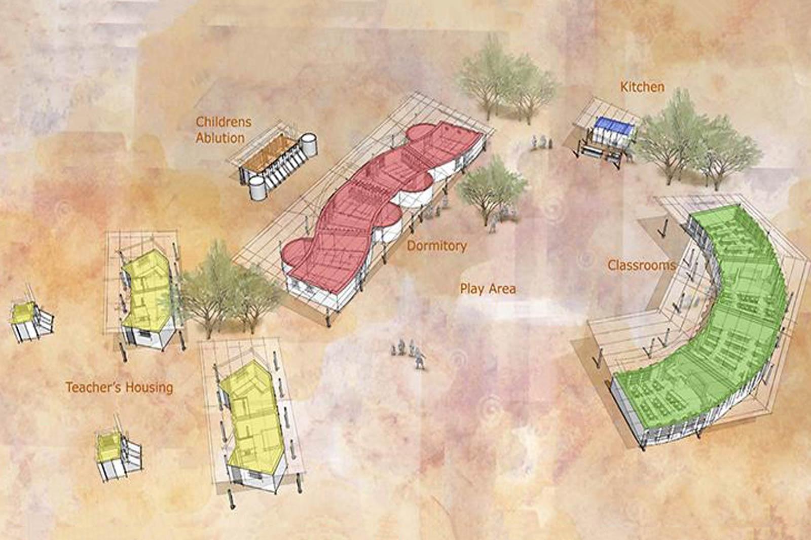 Proyecto de construcción en Namibia